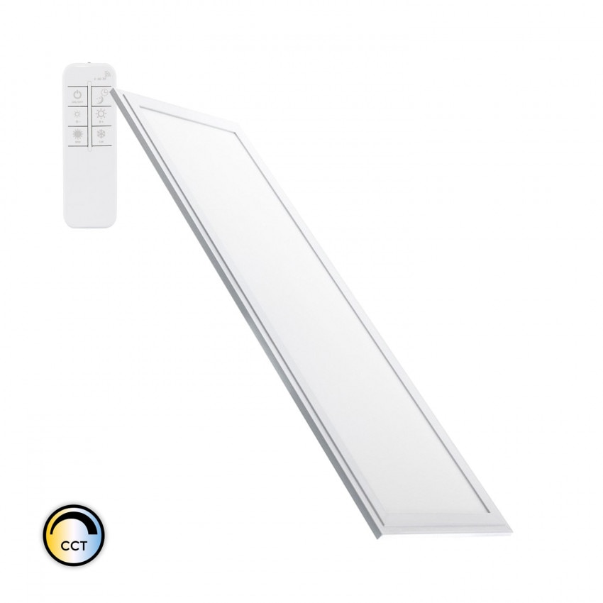 Panel LED 60x30cm 32W 2700lm Slim Regulable CCT Seleccionable