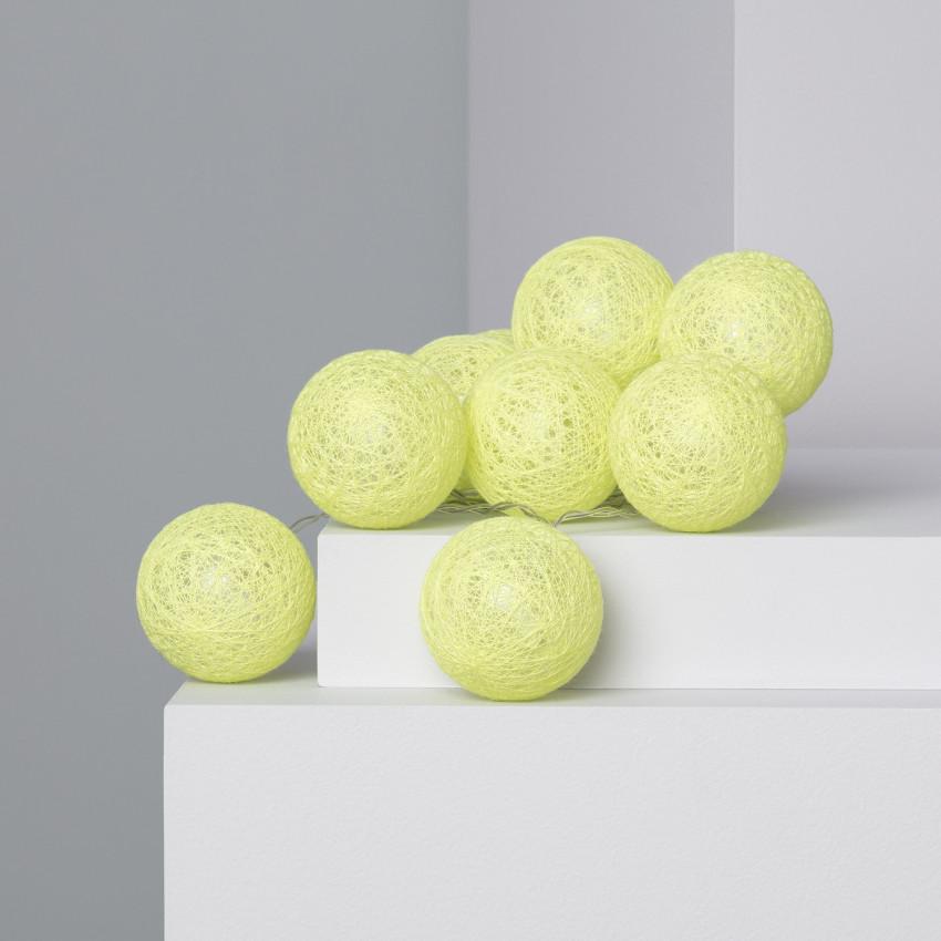 Guirnalda 10 Bolas LED Lemon 1.65m/2.85m