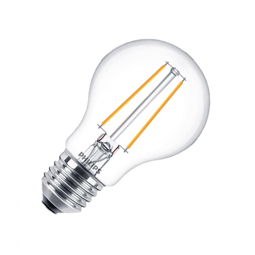 Bombilla LED E27 A60 Filamento PHILIPS CLA Classic 4.5W