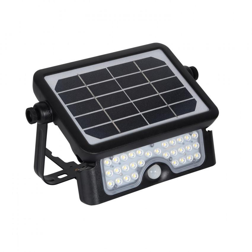 Foco Proyector LED Solar 5W con Sensor de Movimiento PIR