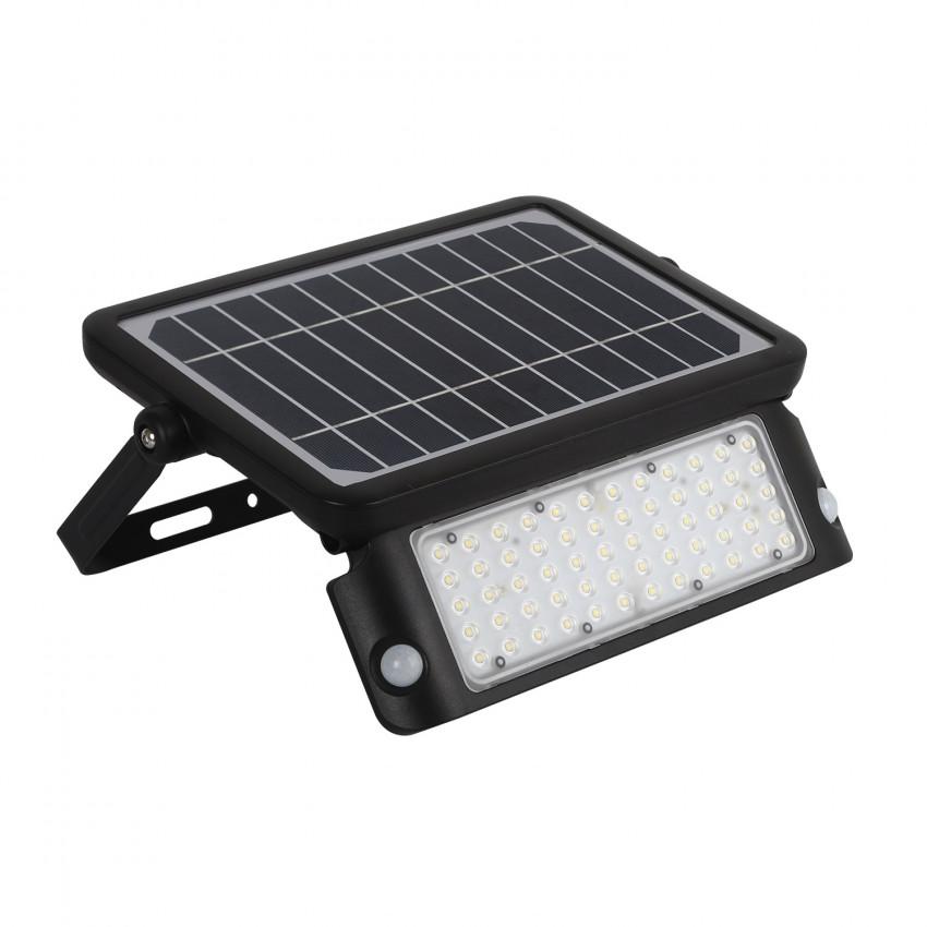Foco Proyector LED Solar 10W con Sensor de Movimiento PIR y Crepuscular