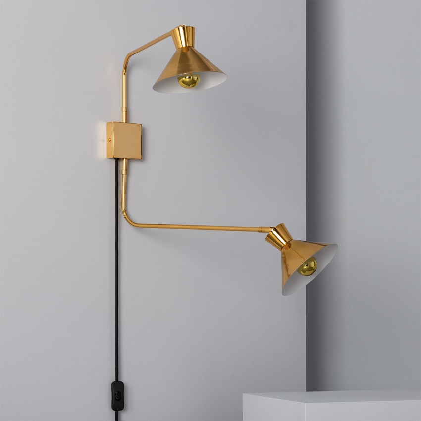 Lámpara de Pared Siamés