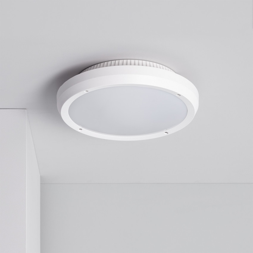 Plafón Circular Curio IP65 Blanco
