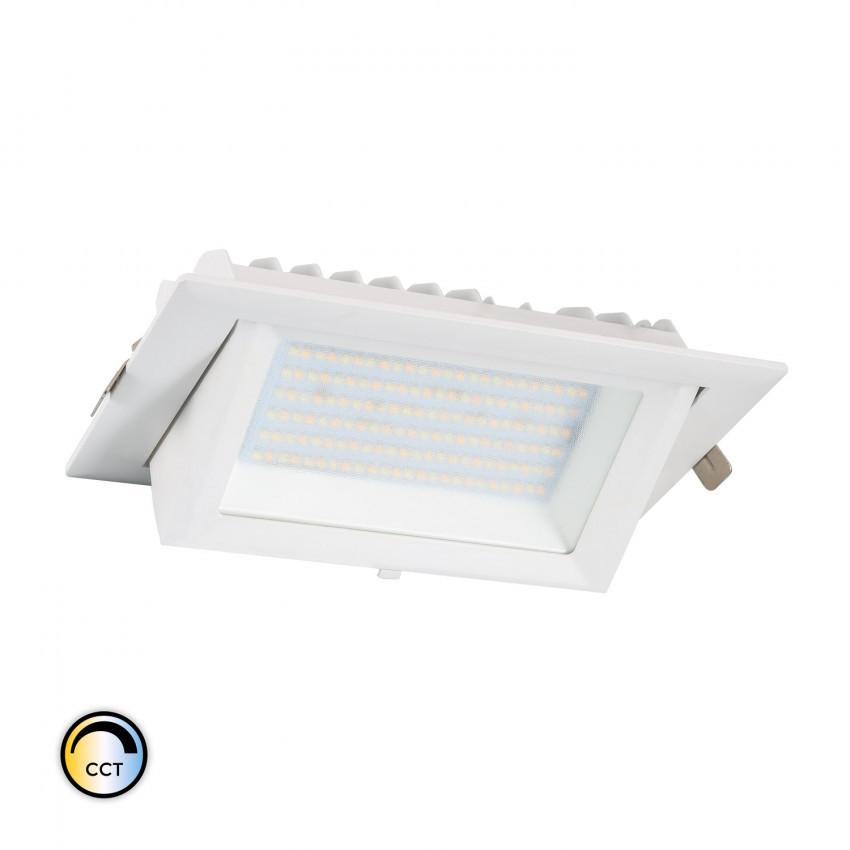 Foco Projector Direccionavél Retangular LED 48W SAMSUNG 130 lm/W CCT  Seleccionavél LIFUD Regulável