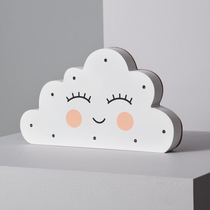 Luz LED de Mesa para Niños Nube
