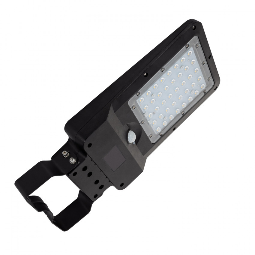 Luminária LED 20W Solar com Sensor de Movimento e Crepuscular