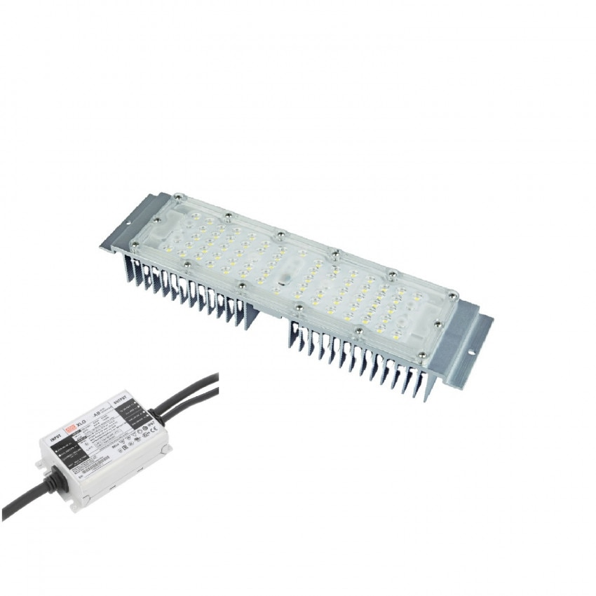 Módulo LED 60W Retrofit para Luminaria de Alumbrado Público MEAN WELL IP67 Regulable 1-10V