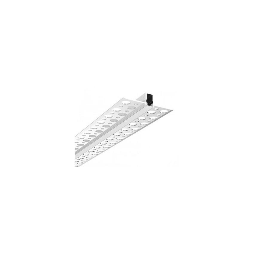 Perfil de Aluminio Empotrado en Escayola / Pladur para Tira LED hasta 18 mm