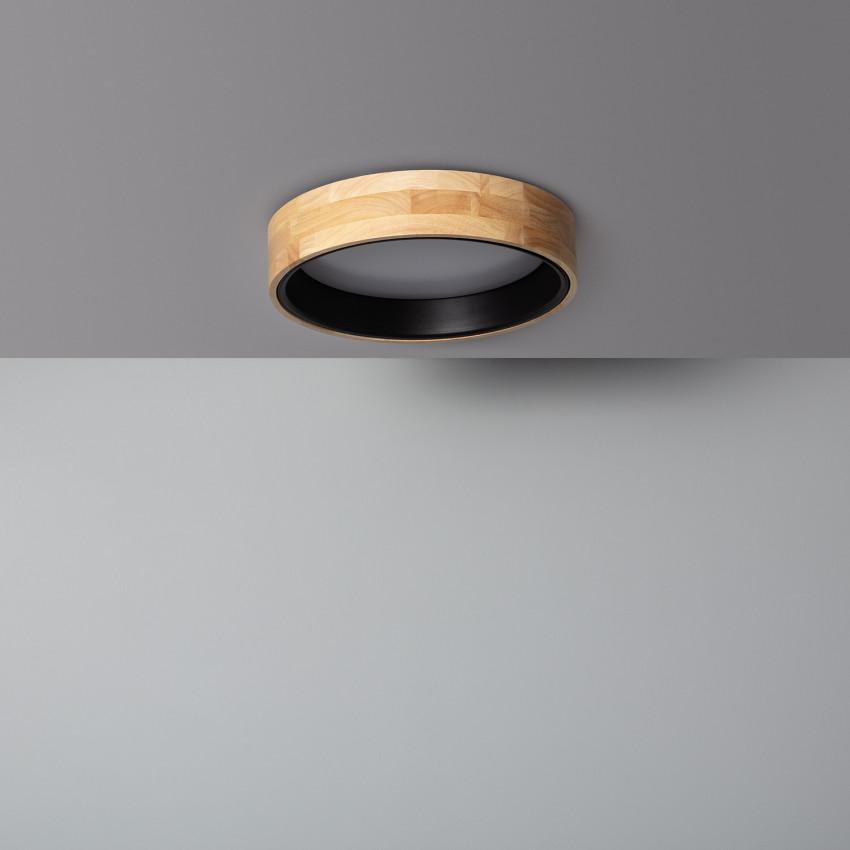 Plafon LED 15W Circular Dari CCT Selecionável