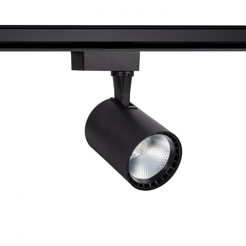 Foco LED Bron Negro 20W para Carril Monofásico