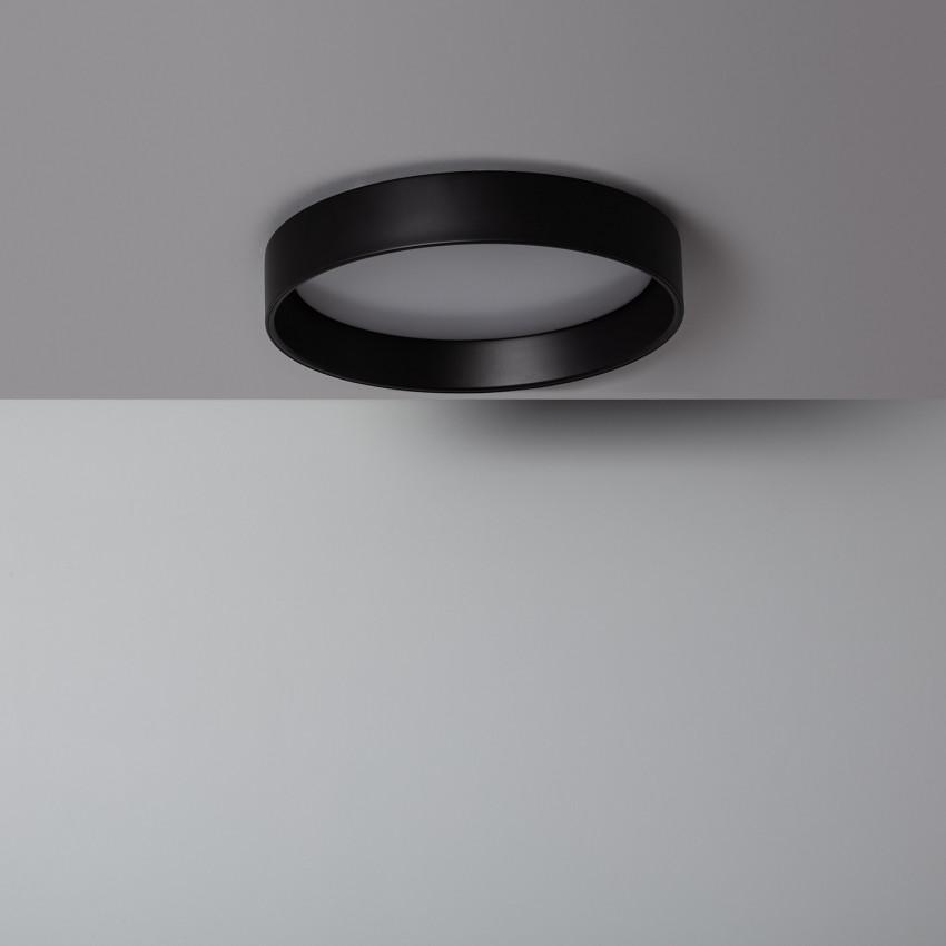 Plafón LED Circular Design CCT 20W Black