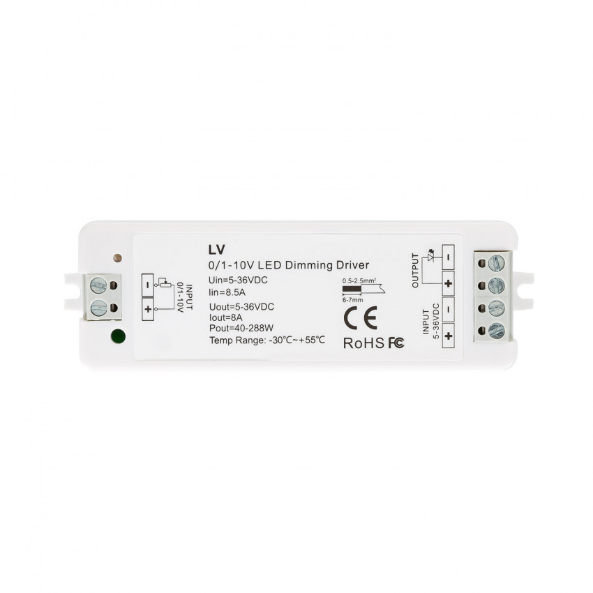 Regulador 1-10V para Fita LED