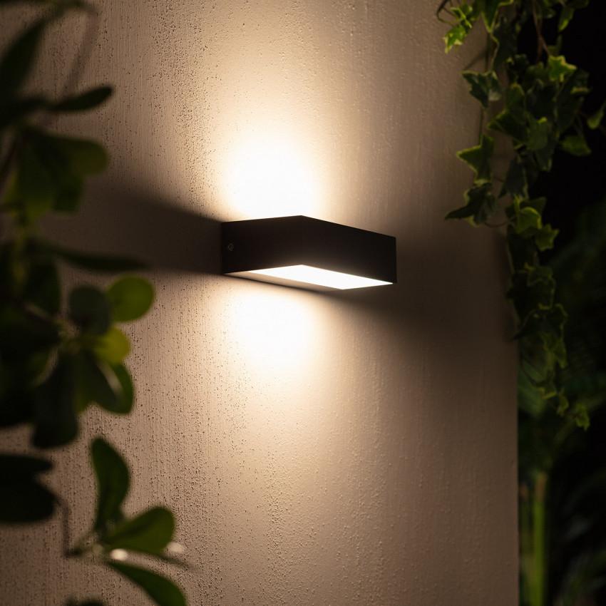 Aplique LED Galeo IP65 9W Iluminação Dupla
