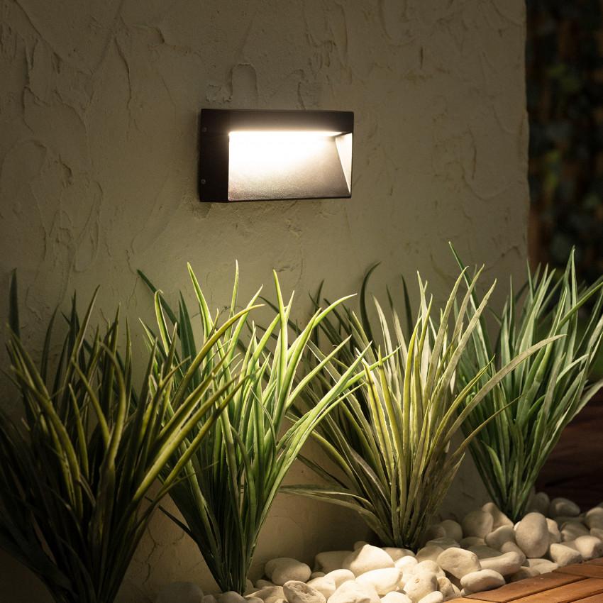 Baliza LED de Superficie Columbia 6W Preto