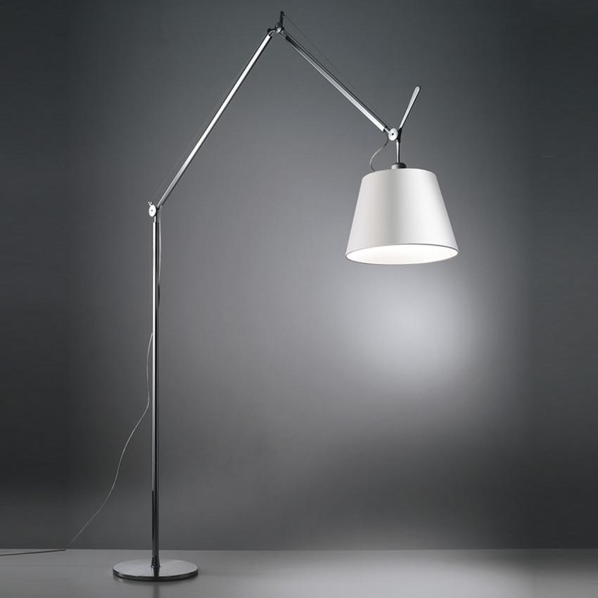 Lámpara de Pie Tolomeo Mega con interruptor ARTEMIDE