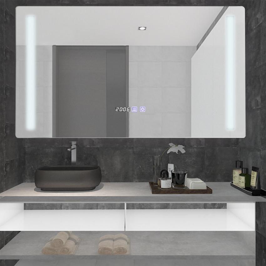 Espelho Decorativo LED Anti-embaçante  Táctil Big Similan 45W