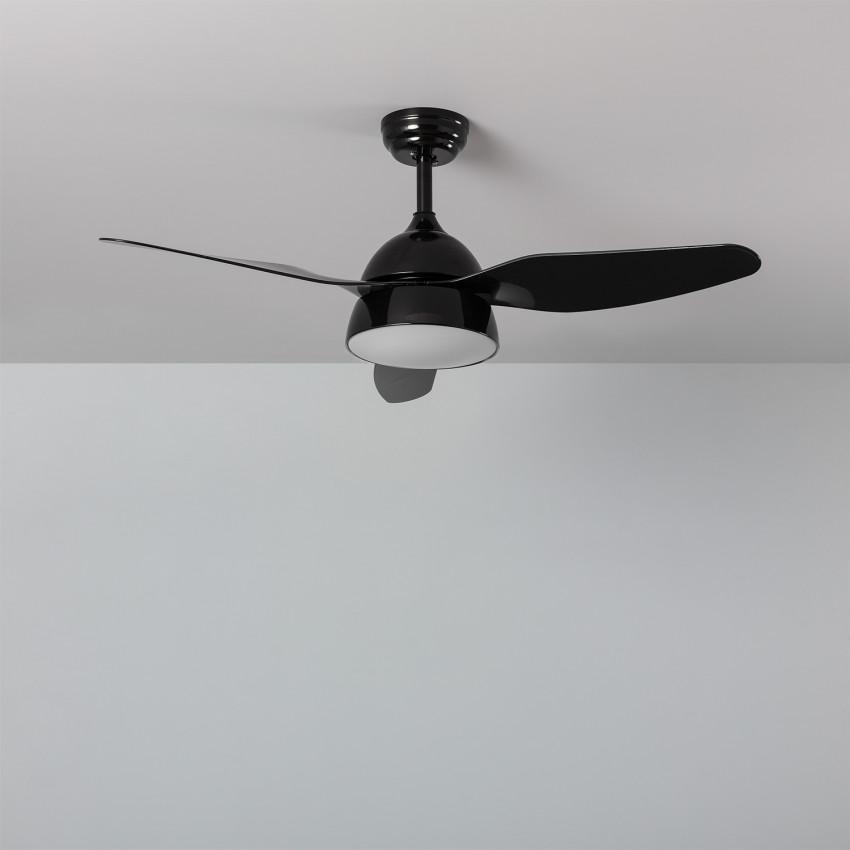 Ventilador de Techo LED New Industrial Negro 116cm Motor AC