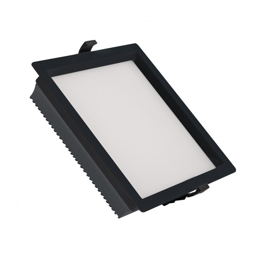 Downlight LED 30W SAMSUNG New Aero Slim Quadrado 130 lm/W (URG17) LIFUD Preto Corte 210x210 mm