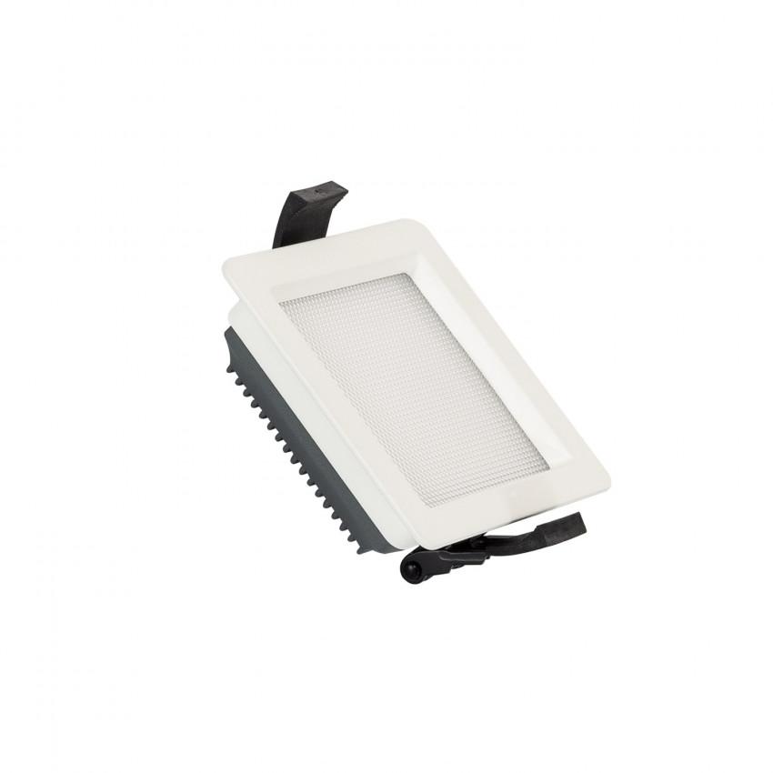 Downlight LED 10W SAMSUNG New Aero Slim Quadrado 130 lm/W (UGR17) LIFUD Corte 85x85 mm