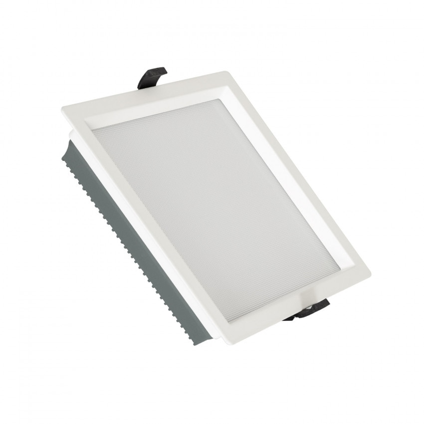 Downlight LED 40W SAMSUNG New Aero Slim Quadrado 130 lm/W (UGR17) LIFUD Corte 210x210 mm