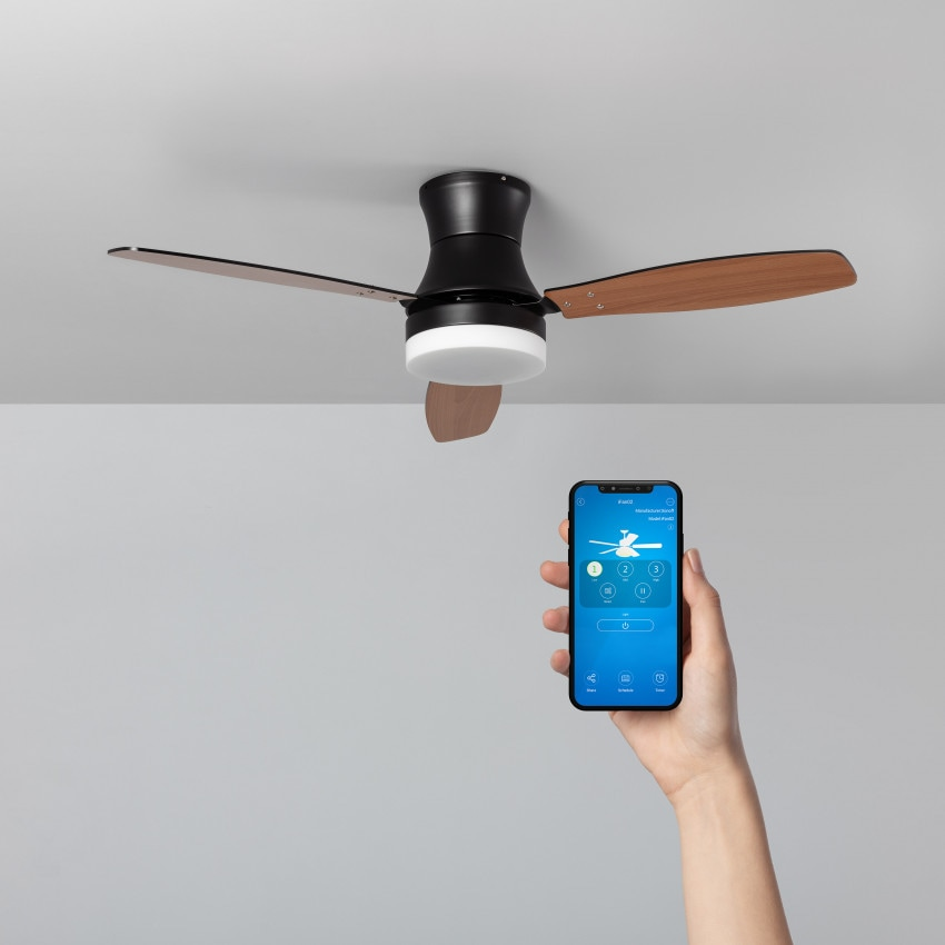 Ventilador de Techo LED Smart WiFi Diabol CCT Seleccionable