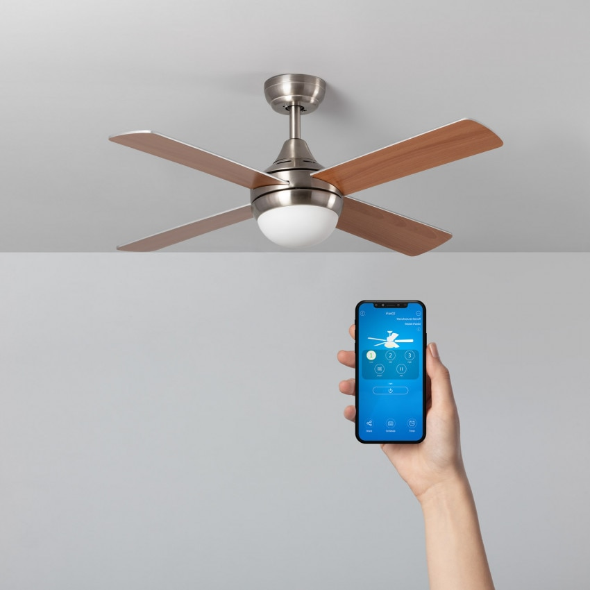 Ventilador de Techo Smart WiFi Navy Niquel