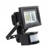 Foco Proyector LED con Detector Blanco Neutro 10W