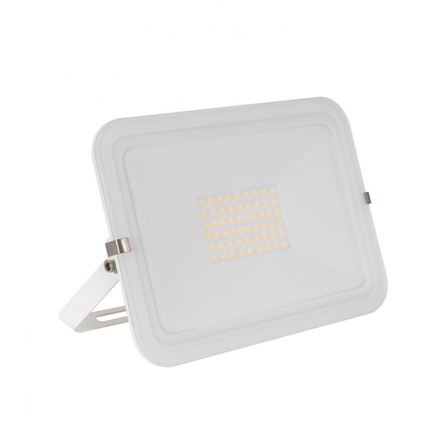 Foco Proyector LED 50W 120lm/W Slim Cristal Blanco