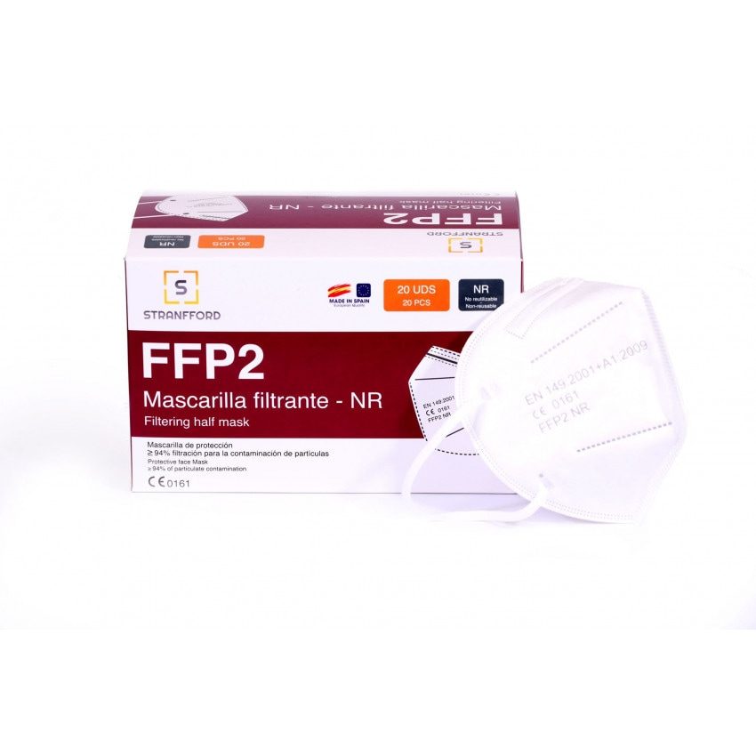 Pack 20 Mascarillas FFP2 Fabricada en España