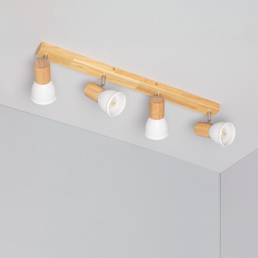 Lámpara de Techo Tautau 4 Focos