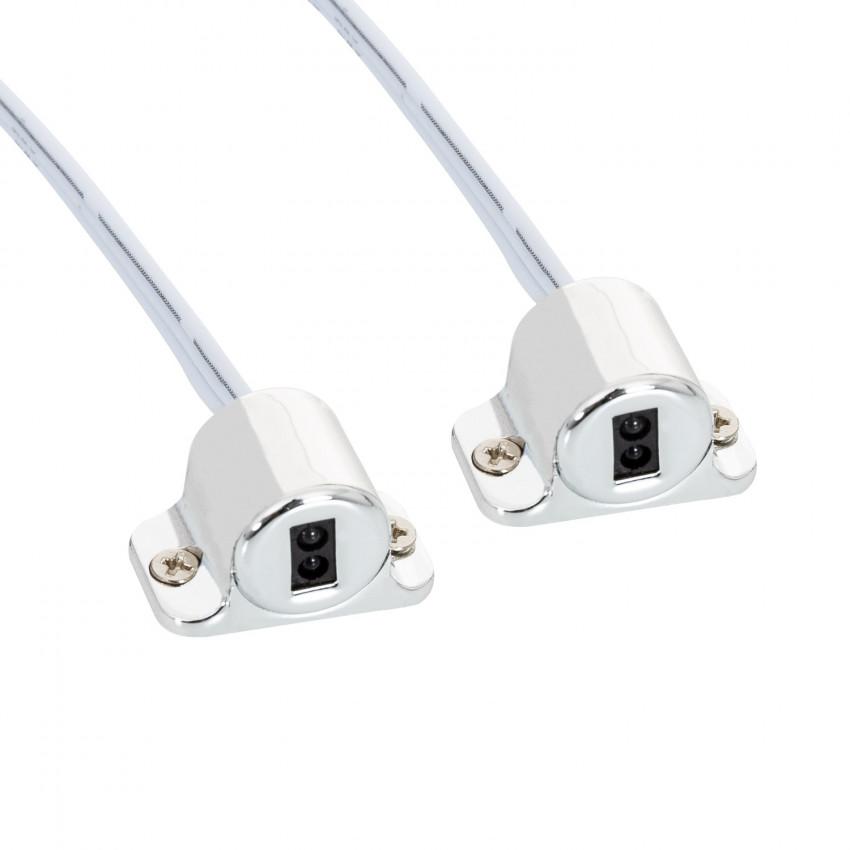 Interruptor Sensor Duplo 12/24V para Portas de Armário