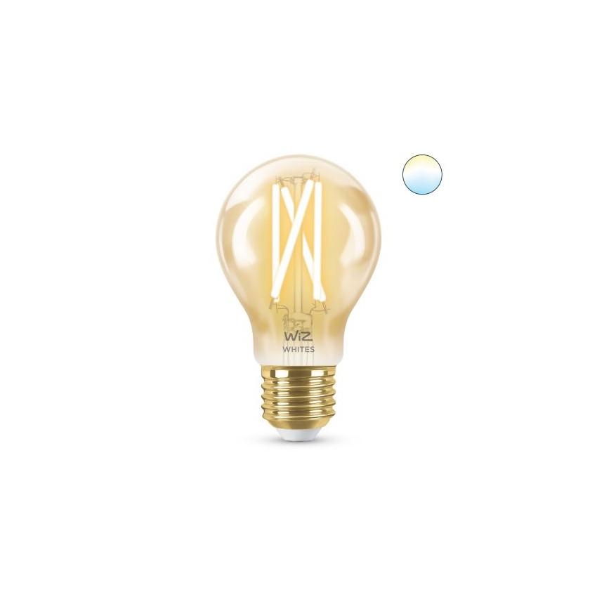 Lâmpada LED Smart WiFi E27 A60 Regulável WIZ Filamento Vintage 6.7W