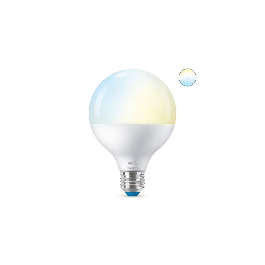 Bombilla LED Smart WiFi + Bluetooth E27 G95 CCT Regulable WIZ 11W