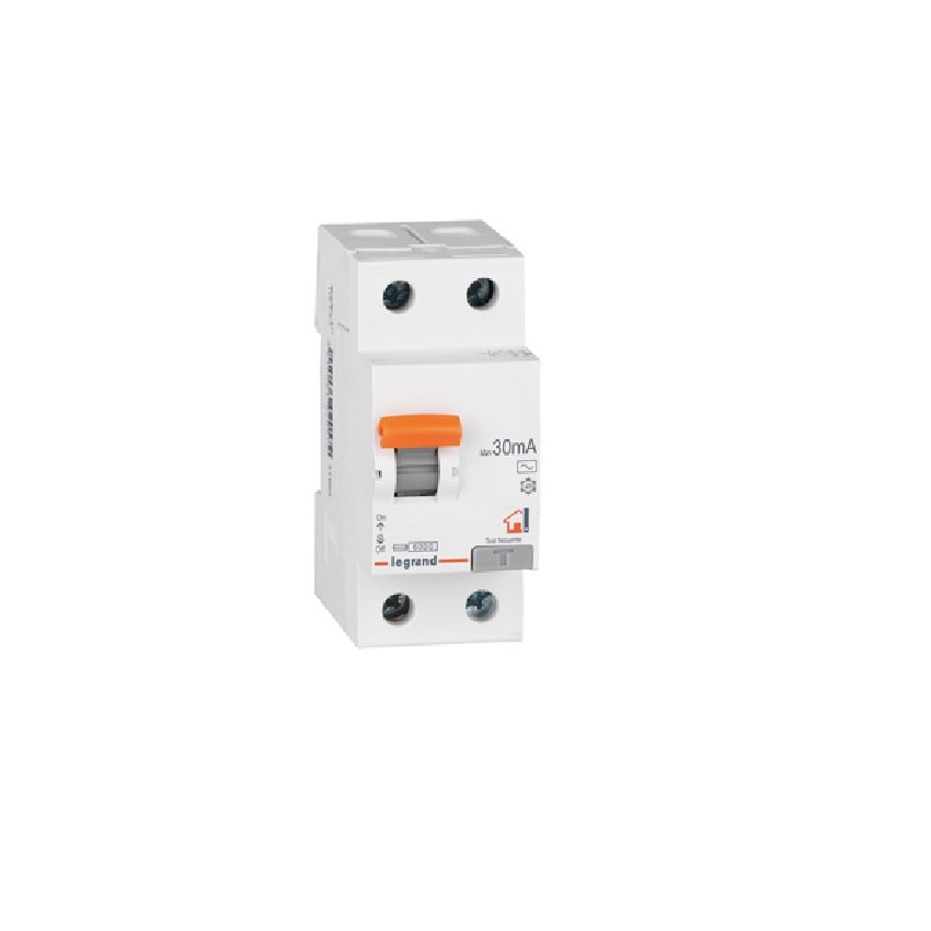 Interruptor Diferencial RX3 Residencial 2P-30mA Clase A Superinmunizado 25-40 A LEGRAND