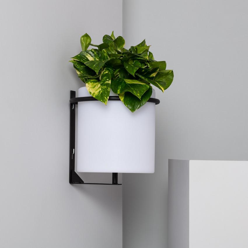 Candeeiro de Parede LED Vaso 22cm RGBW Recarregável IP65