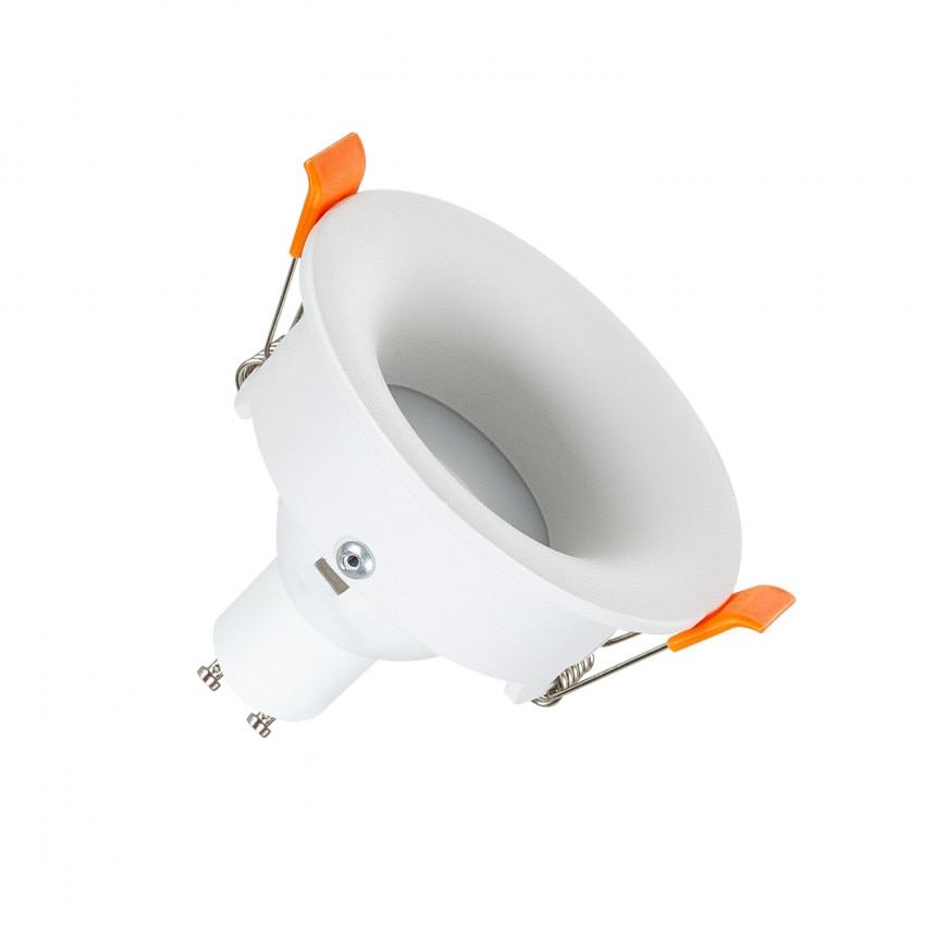 Aro Downlight Circular Luz Indirecta Blanco para Bombilla LED GU10 / GU5.3