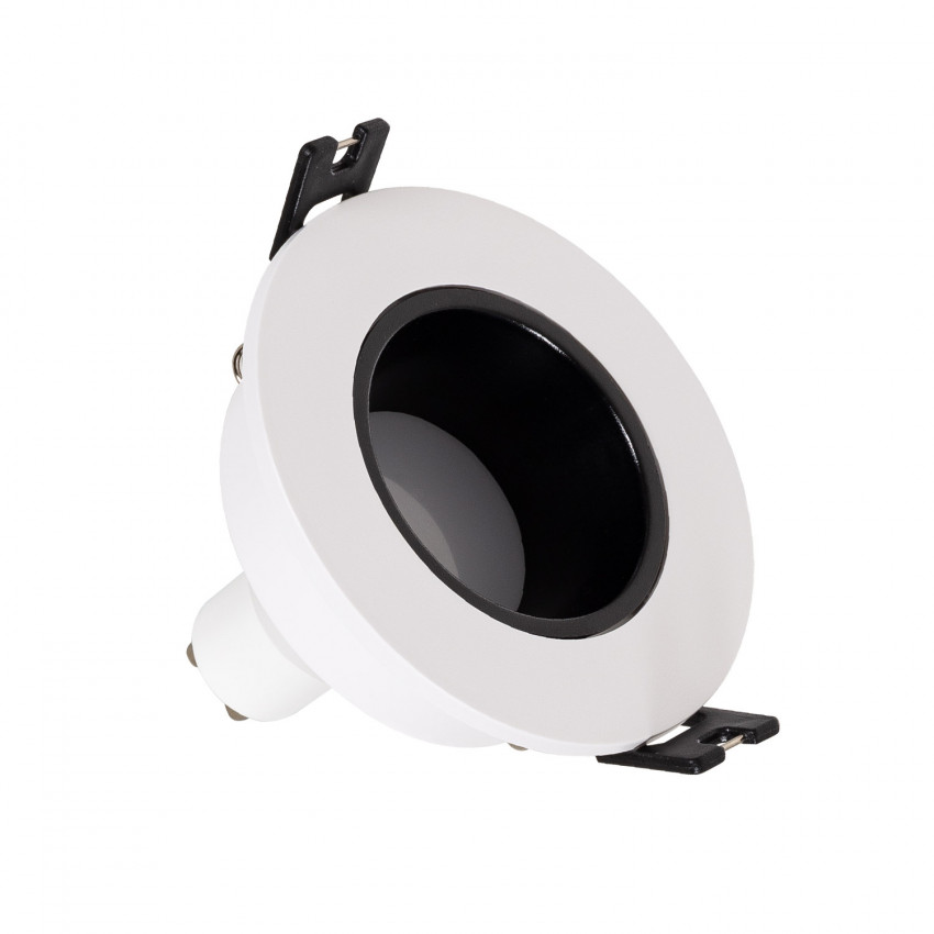 Foco Downlight Cónico GU10 6W Corte Ø 75 mm Bajo URG PC