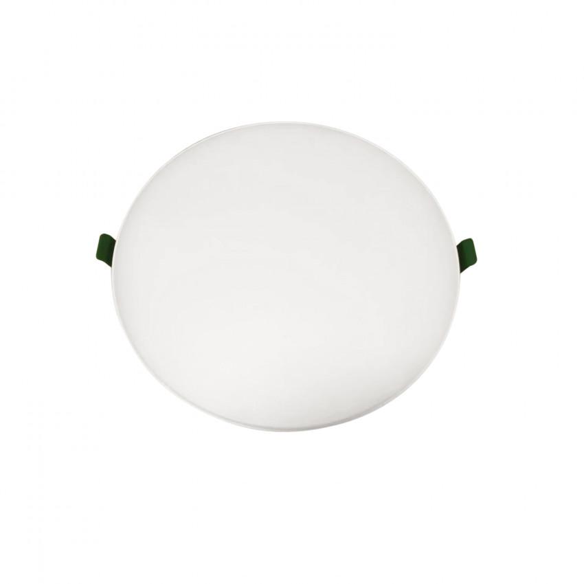 Placa LED 12W CCT Seleccionable Circular Slim Surface (UGR19) Corte Ø 135 mm IP54
