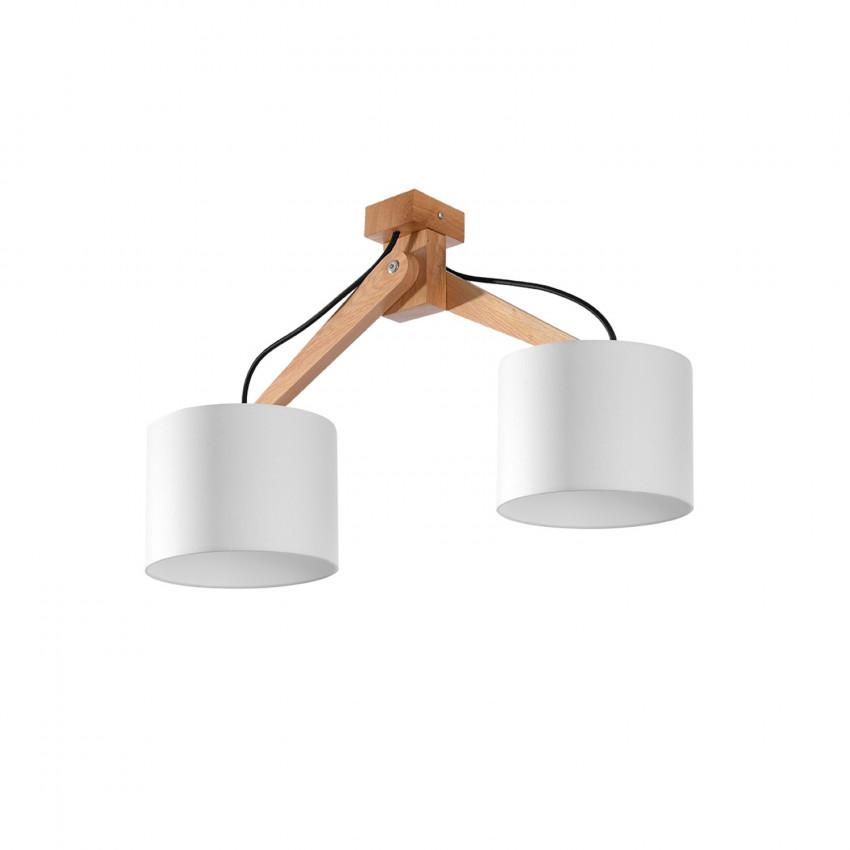 Lámpara de Techo Legno 2 SOLLUX