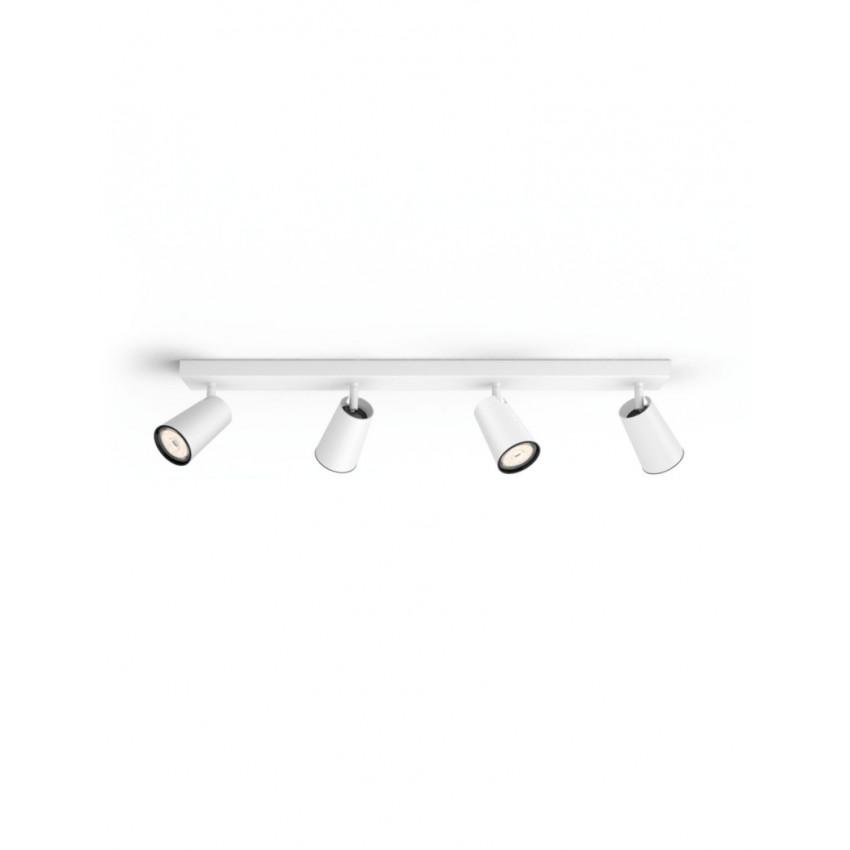 Lámpara de Techo con Cuatro Focos PHILIPS Paisley