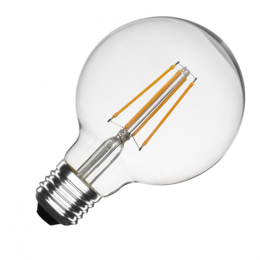 Bombilla LED E27 Regulable Filamento Planet G95 6W