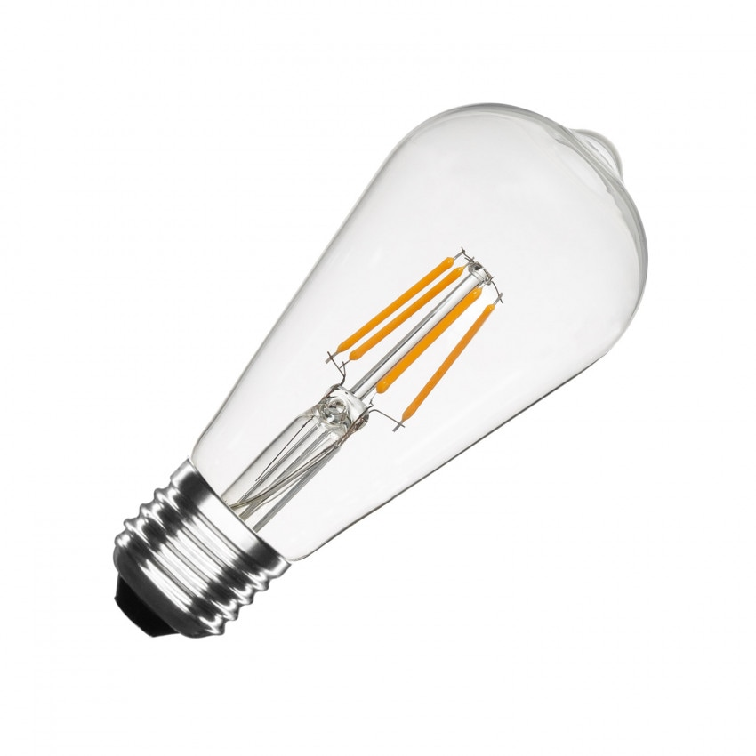 Lâmpada LED E27 Regulável Filamento Big Lemon ST64 5.5W