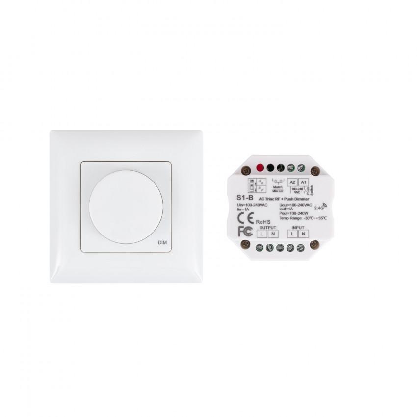 Regulador Interruptor LED Triac Sem Fios