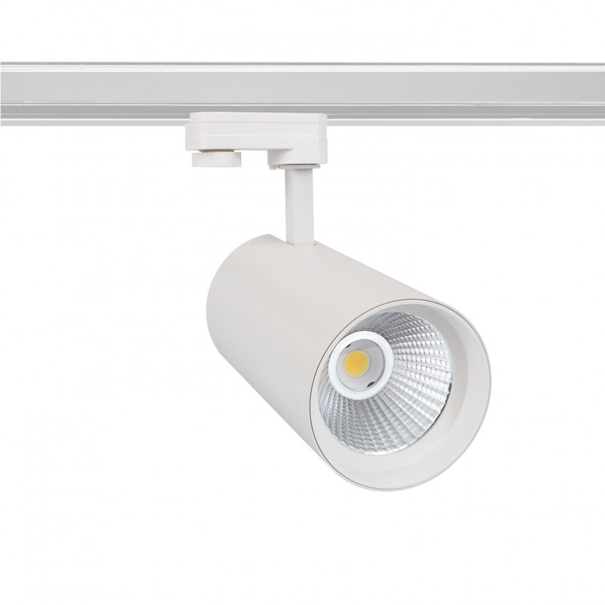 Foco LED New d'Angelo Blanco 40W (CRI 90) LIFUD para Carril Trifásico