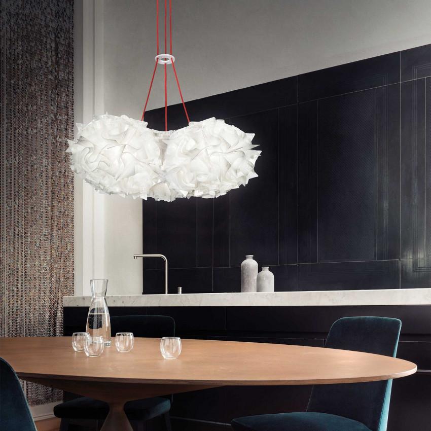 Lámpara Colgante SLAMP Veli Trio Suspension Couture