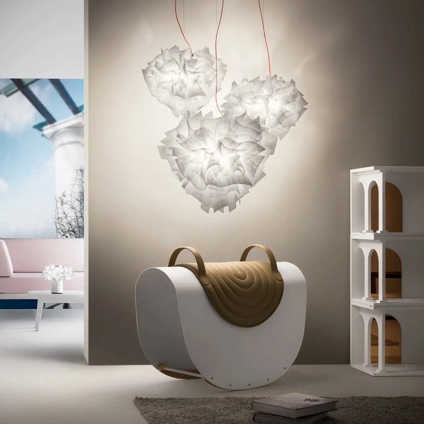 Lámpara Colgante SLAMP Veli Suspension Large Couture
