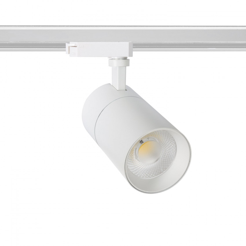 Foco LED New Mallet Blanco 20W Regulable para Carril Monofásico (UGR 15)