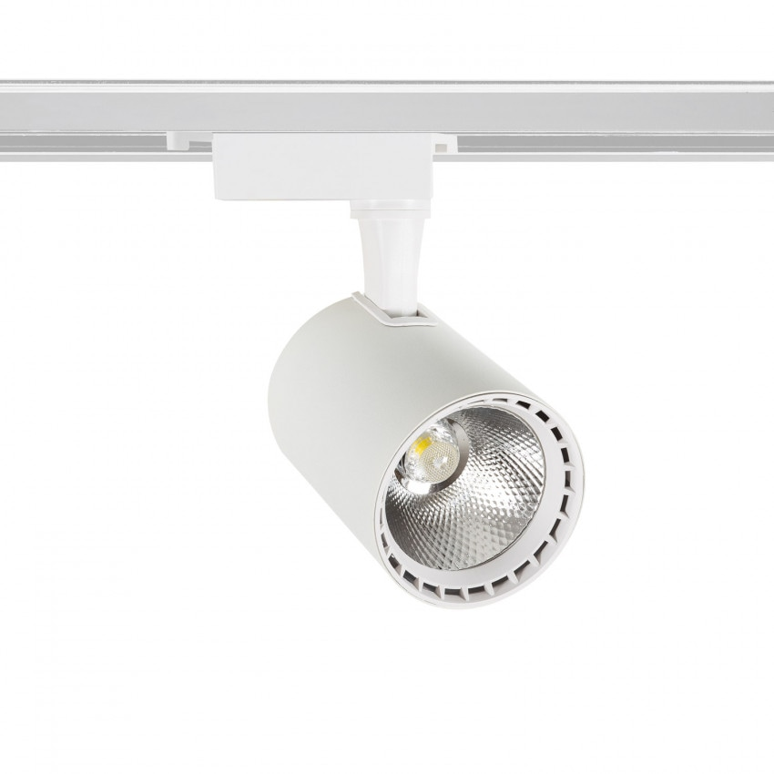 Foco LED Bron Blanco 20W para Carril Monofásico