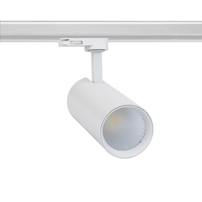 Foco LED New Bertha Branco 30W LIFUD para Carril Trifásico