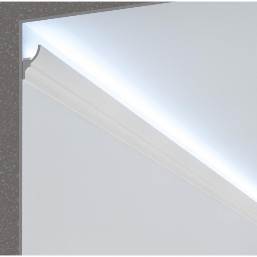 Moldura Zócalo para Fita LED 2m Classic